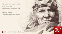 Apache Proverb