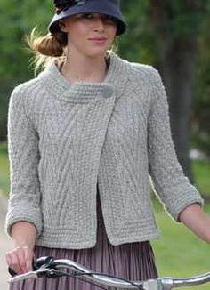 free knitting pattern The Pan-Am Jacket - Knitting Daily