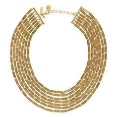 Gold Rush Collar Necklace by Kate Spade: On sale, $89. #Necklace #Kate_Spade