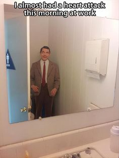 Mr Bean office prank ..... This would be so funny!