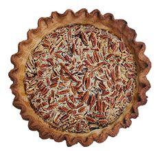 THE DRUNKEN NUT - Bourbon pecan with shortbread crust @ http://emporiumpies.com/pies