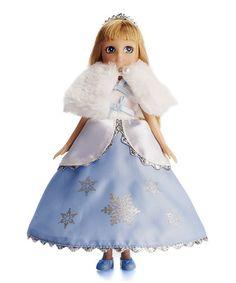 Love this Snow Queen Lottie Doll on #zulily! #zulilyfinds