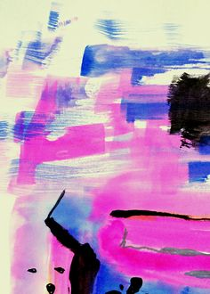 abstract painting . color