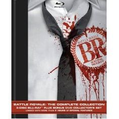 BATTLE ROYALE: If you liked THE HUNGER GAMES, you'll love this crazy bloody Japanese flick from 2000.
