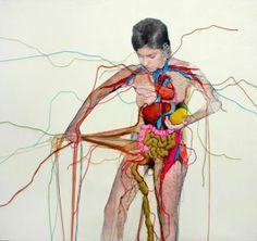 art blog, textile artists, contemporary art, hand stitch, daili blog