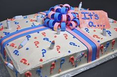 gender reveal cakes | Gender Cakes: Cut the cake to learn the gender of your bundle of joy ...