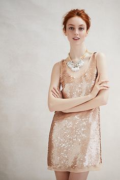 Gatsby Paillettes Dress #AnthroFave