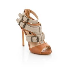OMG These are so cute ...Love the buckles! Casual looking heels! #Shoes #Heels #Pumps #Wedge #Sandals #womens #ladies #girls #beauty #fashion #trendy #stylish #footwear #style, www.LadiesStylish.com