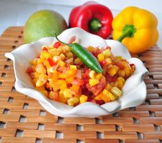 Pineapple Mango Salsa || mywholefoodlife.com