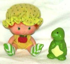 Apple Dumplin and Tea Time Turtle, 1980s...she was my favorite!