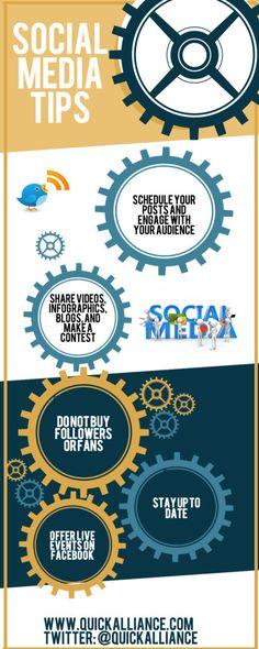 Social Media Tips: #INFOGRAPHIC