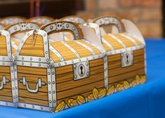 Skylanders Birthday Party Treasure box favors