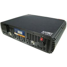 For $438, The Sunforce 11260 2500-Watt Pro Series Pure Sine Wave Inverter converts DC power into clean, stable AC power that is ideal for running home appliances, pumps, and motors. It provides 5000 Watts of peak surge power to get your gear started, and 2500 Watts of continuous power to keep it running. Pure Sine Wave inversion guarantees optimum compatibility with sensitive equipment, computers, motors, televisions and more.