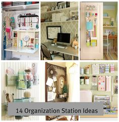 14 Home Organizing Station Ideas