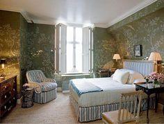 New York bedroom of Jeffrey Bilhuber