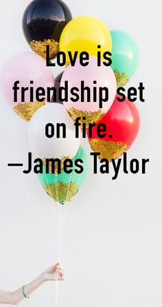 """""""Love is friendship set on fire.""""  #lovequotes"""