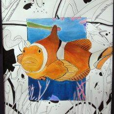 Beyond the Border Art Lesson - Michelle East