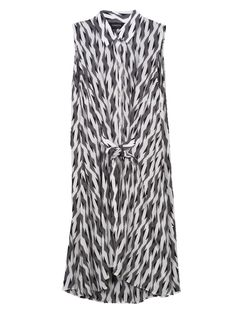 Thakoon Addition Tie-Front Tank Dress