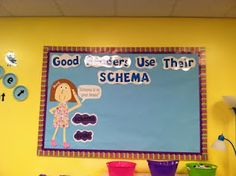 Life in First Grade: Classroom Decorating: Day Six- Meet Schema Susie!