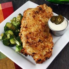 Jalapeno Kettle Chip Crusted Chicken with Jalapeno Ranch