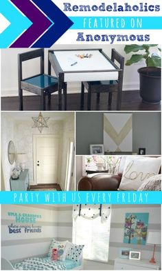 Remodelaholics Anonymous Link Party Features | Remodelaholic.com #remodelaholicsanon #linkparty