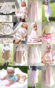 sophisticated and fashionable baby and toddler clothing from Etsy. You can't find this stuff in the stores now days!