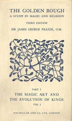 The Golden Bough by Sir James George Frazer #book #covers #graphic #design