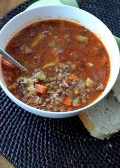 Sausage Lentil Soup