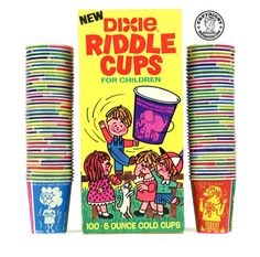 Dixie Riddle Cups 1971