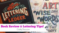 Happy Lefthanders Day + Lettering Tips from @CraftyChica #thursDIY #crafthappy