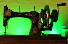 The sewing machine Clara and Ugo gave me