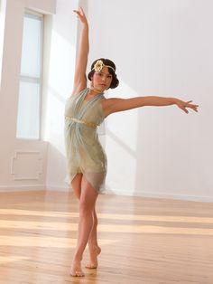 Gold Dust - Style 0434 | Revolution Dancewear Contemporary/Lyrical Dance Recital Costume