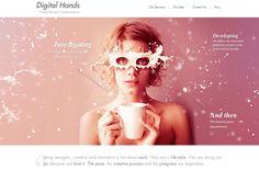 Webdesign : 10 exemples de sites utilisant l'effet parallaxe (urling)