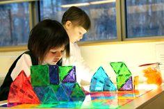 Havergal Kindergarten students learning in an Reggio Emilia-inspired classroom