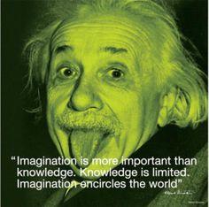 Albert Einstein - Imagination (I.Quote)