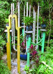 Las Pozas, Edward James Surreal Wonderland in Xilitla Mexico.