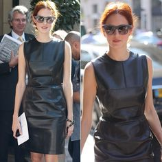 #stealthelook #look #looks #streetstyle #streetchic #moda #fashion #style #estilo #inspiration #inspired #couro #leather #TaylorTomasiHill #vestido #preto