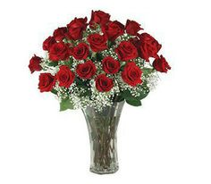 What can be said about one of the most cherished and classic gifts? Roses set the standard for expressing love and thoughtfulness. 1 or 2 dozen available. Color choices include: classic red, yellow, pink and novelty  yellow/red, cream/ burgundy, or cream/red etc. This beautiful arrangement includes a vase. SHOP NOW: www.KimsLabellabaskets.com