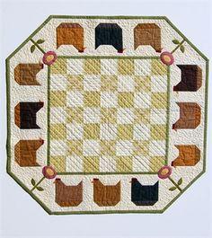 Hen Party Quilt Pattern