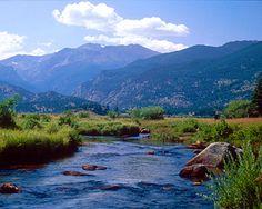 Rocky Mountain National Park. Colorado