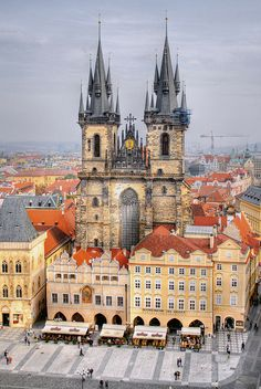 Church of our Lady before Týn, Prague, Czech Republic