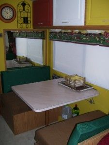 Blog about remodeling an RV affordably