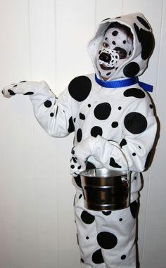 diy costume puppy, 101 dalmatians, kid costumes, puppi dog, dog costumes