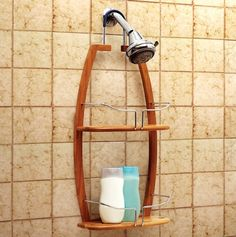 Deluxe Over the Head 2-Tier Shower Caddy