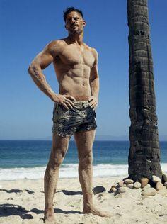 Joe Manganiello = Sandiest Man Alive