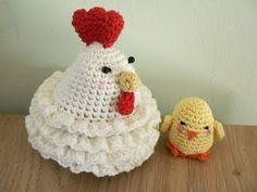CROCHET CHICKEN TEA COZY PATTERN Crochet Patterns Only
