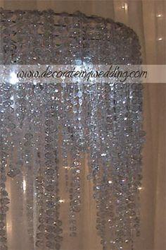 diy chandelier lamp