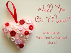 The Creative Place: Tuesday Tutorial: Valentine Ornament