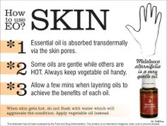 How to Use Essential Oils - Skin