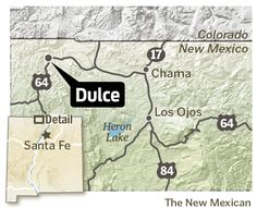 Odd New Mexico Dulce Underground Bottom